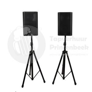 2 Speakers op statief