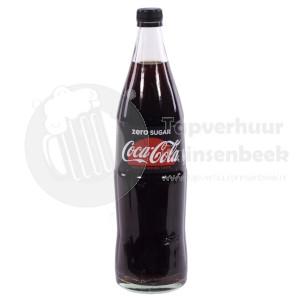 Fles Coca Cola Zero 1L